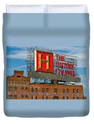 The History Channel Duvet Cover