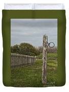The Hitching Post Duvet Cover