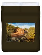 The Hogan Where  We Stayed Canyon Dechelly Nps Duvet Cover