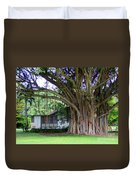 The House Beside The Banyan Tree Duvet Cover
