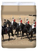 The Household Cavalry Performs Duvet Cover