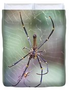 The Hunter And It's Prey Duvet Cover
