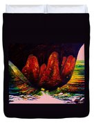 The Ice Cave Duvet Cover