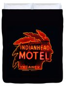 The Indianhead Duvet Cover