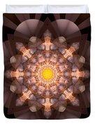The Inner Radiance Duvet Cover