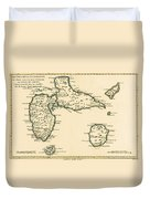 The Islands Of Guadeloupe Duvet Cover