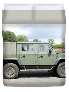The Iveco Light Mulirole Vehicle Duvet Cover