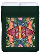 The Joy Of Design V Arrangement Hanging In The Balance Duvet Cover
