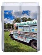 The Kindness Bus 1 Duvet Cover