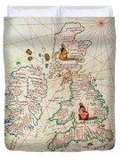 The Kingdoms Of England And Scotland Duvet Cover