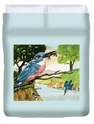 The Kingfisher Duvet Cover