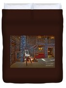 The King's Living Room Duvet Cover by Susan Candelario