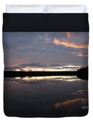 The Last Glow Duvet Cover by Heiko Koehrer-Wagner
