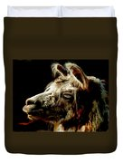 The Legendary Llama  Duvet Cover