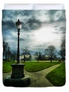The Light Of A Winter's Day Duvet Cover