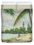 The Lighthouse - Zanzibar Duvet Cover