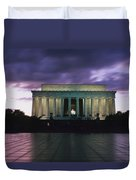 The Lincoln Memorial At West End Duvet Cover