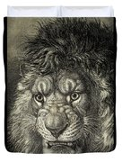 The Lion, King Of Beasts.  From El Duvet Cover