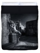 The Little Angel Recoleta Cemetery Ba Duvet Cover