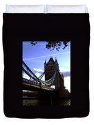 The London Tower Bridge Duvet Cover