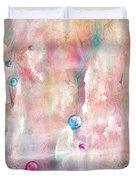 The Lost Marbles Duvet Cover