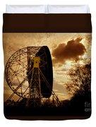 The Lovell Telescope At Jodrell Bank Duvet Cover