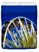 The Magic Ferris Wheel Ride Duvet Cover