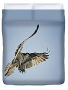 The Magnificent Osprey  Duvet Cover