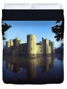 The Majestic Bodiam Castle And Its Duvet Cover