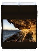The Malaspina Galleries Duvet Cover