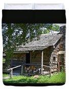 The Mark Twain Family Cabin Duvet Cover