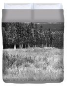 The Meadow Black And White Duvet Cover