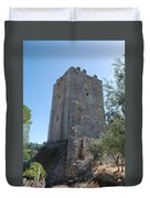 The Medieval Tower Duvet Cover