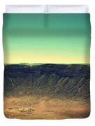 The Meteor Crater In Az 4 Duvet Cover