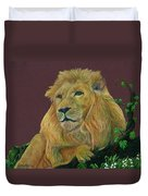 The Mighty King Duvet Cover