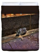 The Mighty Pigeon Duvet Cover