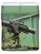 The Milan, Guided Anti-tank Missile Duvet Cover