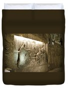 The Miracle At Cana In Galilee - Wieliczka Salt Mine Duvet Cover