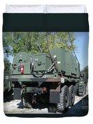 The Mk48 Logistics Vehicle System Duvet Cover