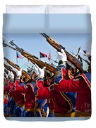 The Mongolian State Honor Guard Duvet Cover