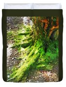The Moss Covered Roots Duvet Cover