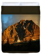 The Mountain Says Good Morning Duvet Cover