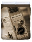 The Movie Camera Duvet Cover by Mike McGlothlen