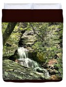 The Mystery Waterfall Duvet Cover