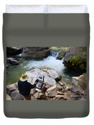The Narrows Quality Time Duvet Cover