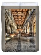 The Nave At St Davids Cathedral 3 Duvet Cover