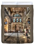 The Nave At St Davids Cathedral 5 Duvet Cover