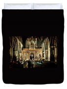 The Nave At St Davids Cathedral Duvet Cover