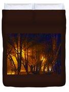 The Night Lights Duvet Cover