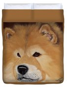 The Noble Chow Duvet Cover